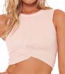 MG Yoga Wear Style Perfect Midi Sports Top Front closeup Profile
