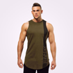 1Stanton Gym Tank Top | Khaki Green