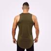 2 Stanton Gym Tank Top | Khaki Green