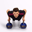 MGactivewear Athlete wear Black Varick Men Sports T shirt Kettle ball Profile