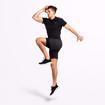 MGactivewear Athlete wear Black Varick Men Sports T shirt Jump Profile