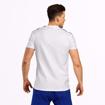 MGactivewear Athlete wear White Varick Men Sports T Shirt Back Profile