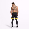 MGactivewear Ecommerce Black Fulton Sport Shorts Back picture