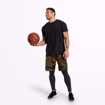 MGactivewear Online Sports Shop Military Camo Product Picture Athlete with Basketball