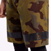 MGactivewear Online Sports Shop Military Camo Product Picture Athlete with Closeup on Logo Print