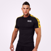 Men Muscle Fit T- shirt in Black
