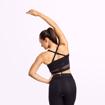 2 Waverly Mesh Workout Bra | Black