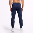 Men Fitness Wear by Better Bodies at MGactivewear  Varick Track Pants Navy Blue Back