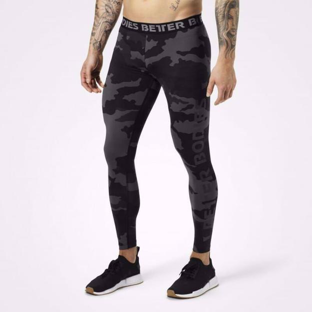 Men compression pants Front
