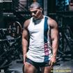 3 Stanton Gym Tank Top | White