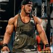 MGactivewear Athlete IFBB Pro Hunter Labrada wearing Vintage Men Gym Tank Top for Bodybuilding.