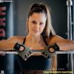 5 Waverly Mesh Workout Bra | Black