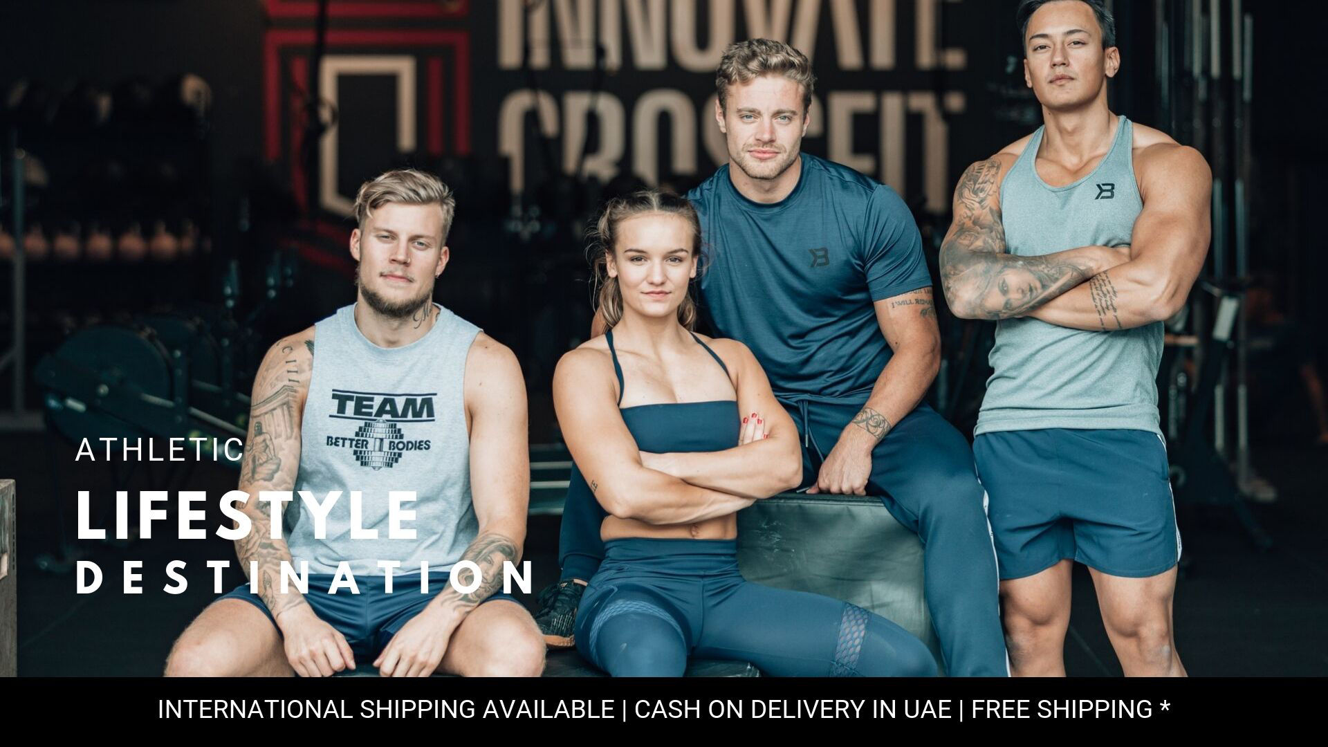 Shop online Premium Sports , Fitness , Yoga and Gym wear for men and women in UAE