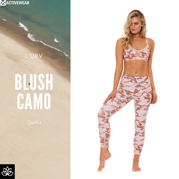 Blush Camo Beach Wear Set