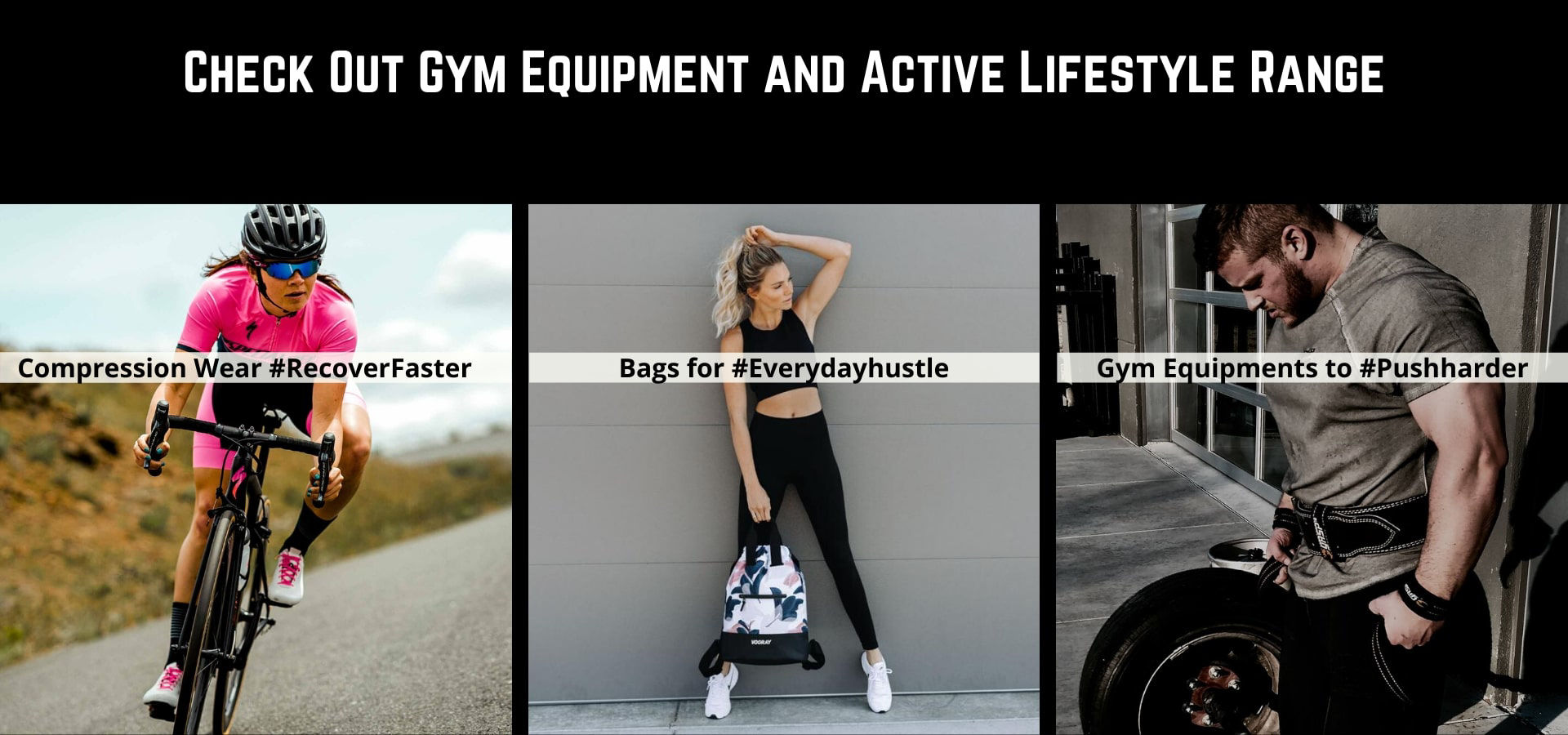 Shop Gym equipments to Improve Workouts
