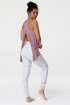 Tie Back Tank Top For Yoga