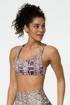 Viper Print Women Workout Sports Bra