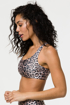 Onzie Workout Bra in Leopard print