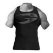 1 Original Ribbed Bodybuilding Vest | Black