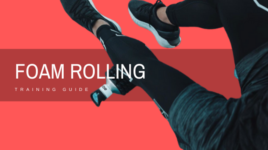 Learn foam rolling to strengthen your leg muscles.