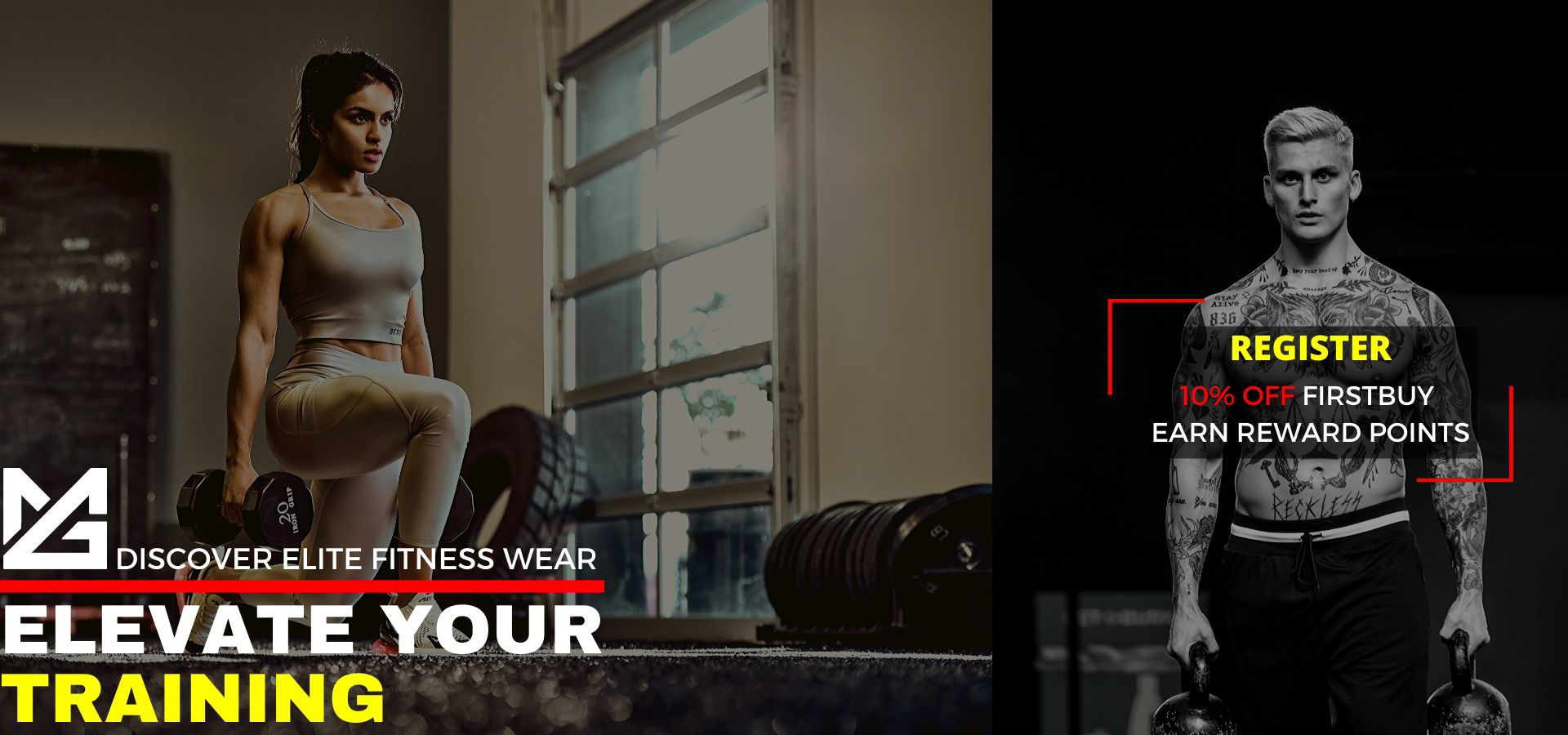 Elite Fitness Ecommerce in UAE with best rated activewear brands at super saver prices with worldwild shipping