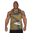 Muscle Stringer in Camo Front Photo