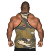 Muscle Stringer in Camo Back Photo