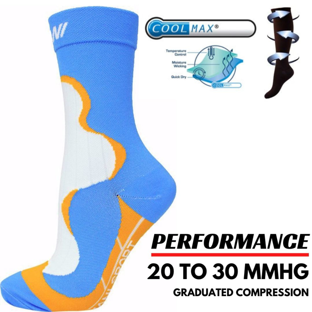 Men Crew Length Compression Sock | Online Shopping in UA