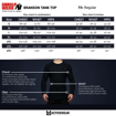 Get the Right Fit Men Gym Wear with Size Chart by the Brands Product wise