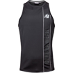 Branson Tank Top In Black Gray | Gorilla Wear in Dubai