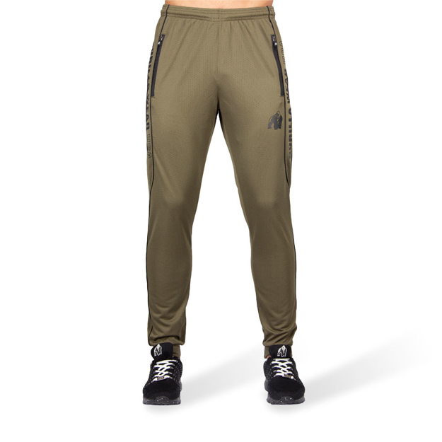 Brand Men's Track Pant in Army Green   Gorilla Wear