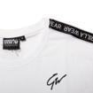 Chester Premium Men Sports T-shirt in White and Black