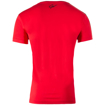 Chester Men's Premium Cotton Sports T-shirt in Red Black