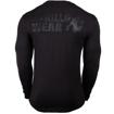 William Long Sleeve Bodybuilding T-shirt | Black