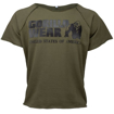 Army Green Classic Bodybuilding Workout Top