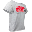 Gray Classic Bodybuilding Workout Top