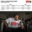 Size Chart Classic Workout Top