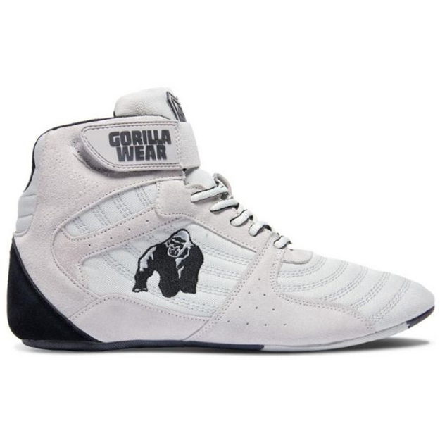 Gorilla Wear } Perry High Tops White