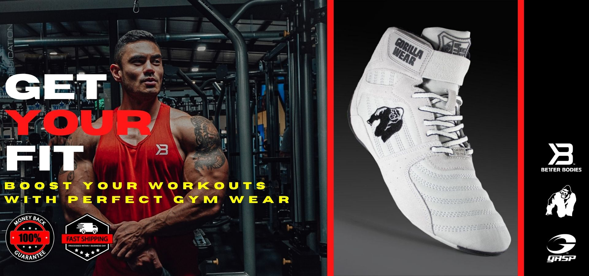 Authorized Dealer of Leading Workout wear and lifestyle brands in UAE