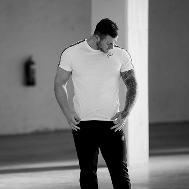 Picture of Gorilla Wear Chester Sport T-Shirt | White Black