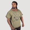 Picture of Gorilla Sheldon Oversize Top | Army Green