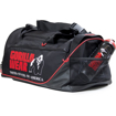 Duffle gym bag with shoe packet