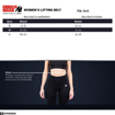 Size Chart For Belt
