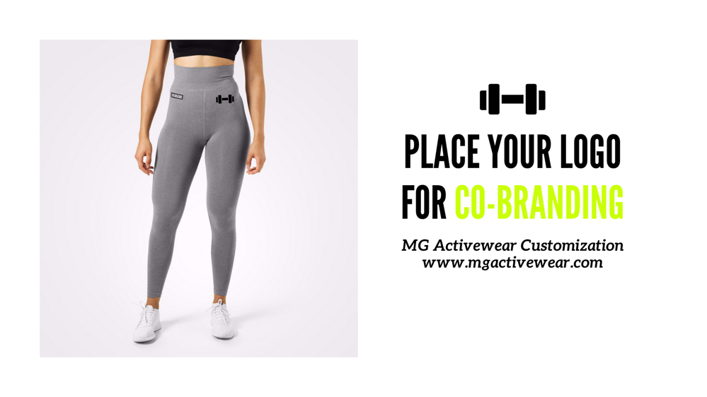 Co Brand your logo next to Better Bodies Gym Wear